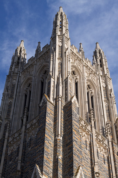 The cathedral at Duke is...impressive.