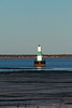 "The new ""lighthouse"" in Escanaba.  Also hazy from the temperature gradient."