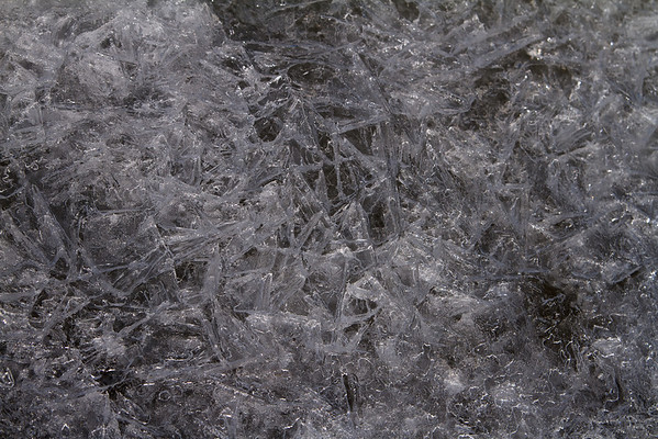 More ice crystals!
