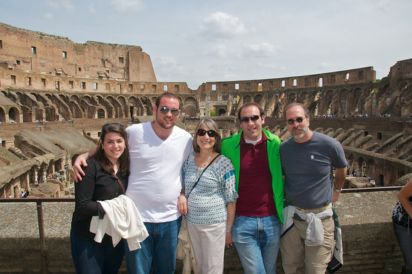 DSC_4676 - In the Coliseum, Rome Italy