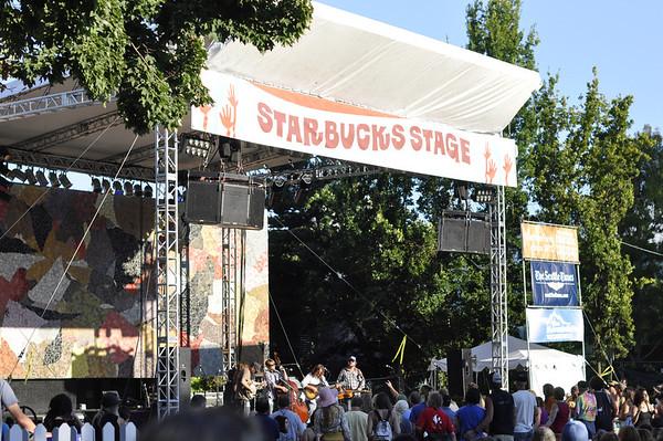 Greensky Bluegrass at Bumbershoot '11.