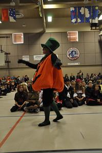 Halloween Pumpkin Parade at Columbia Elementary - Principal Eidbo