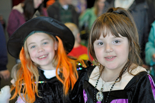 2011.10 - Boo  Bash at Rosehill Community Center with Bella and her family.