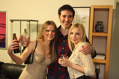 Stan with girls
