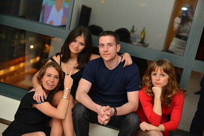 Igor with 3 girls