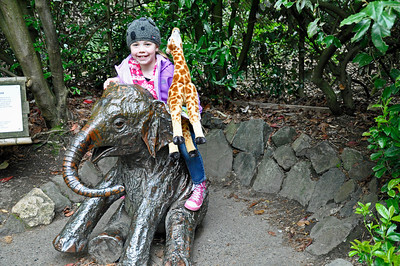2012.04 - Zoo. After seeing the elephants.