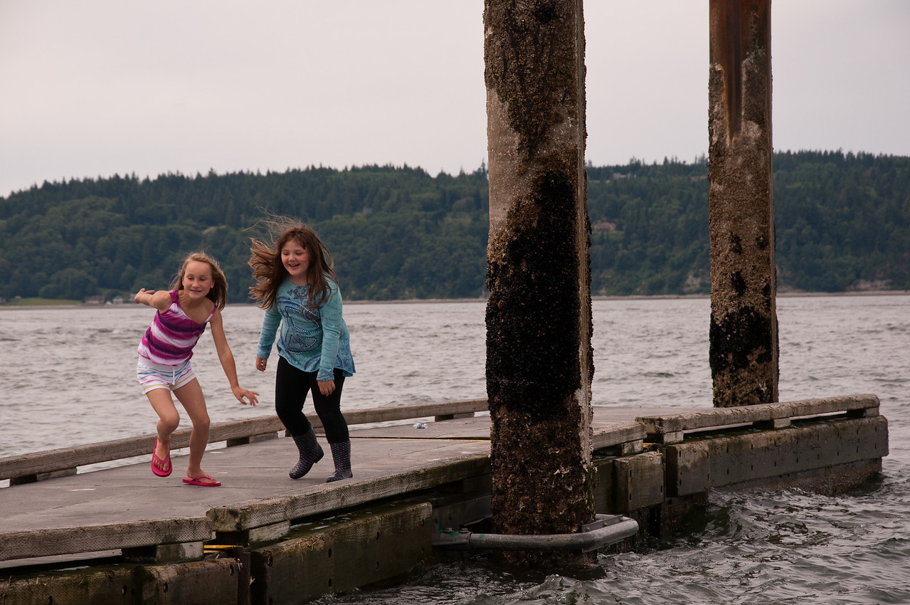 2012.06 - Last day of 2nd grade. Mukilteo Lighthouse beach.