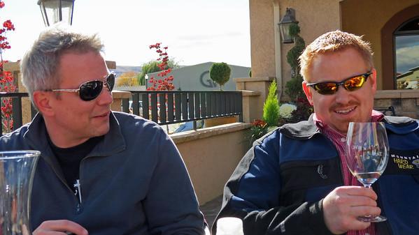 2012.10 - Chad's birthday: wine tasting in Prosser, WA.