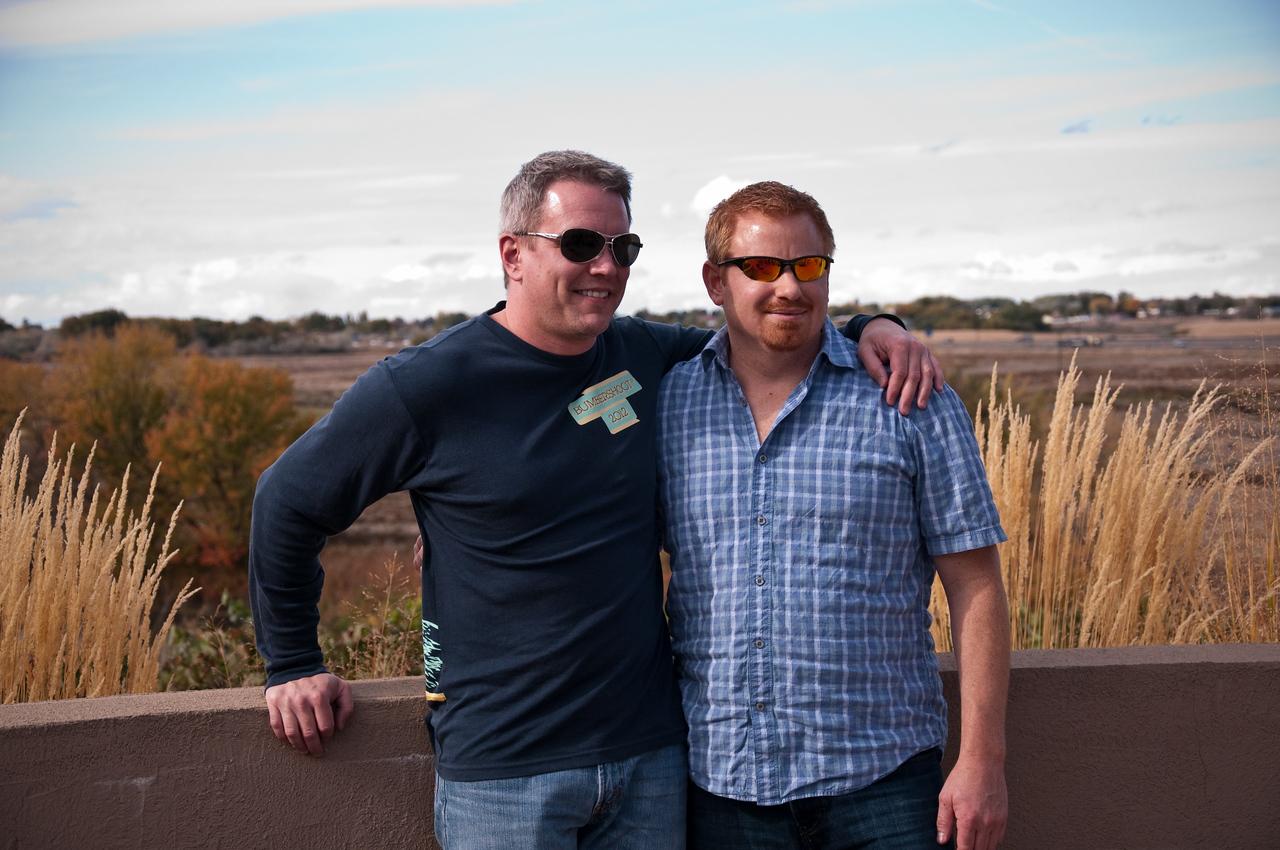 2012.10 - Chad's birthday: wine tasting in Prosser, WA. Desert Wind Winery.