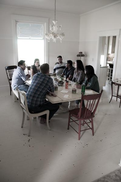 2012.10 - Chad's birthday: wine tasting in Prosser, WA. Breakfast.
