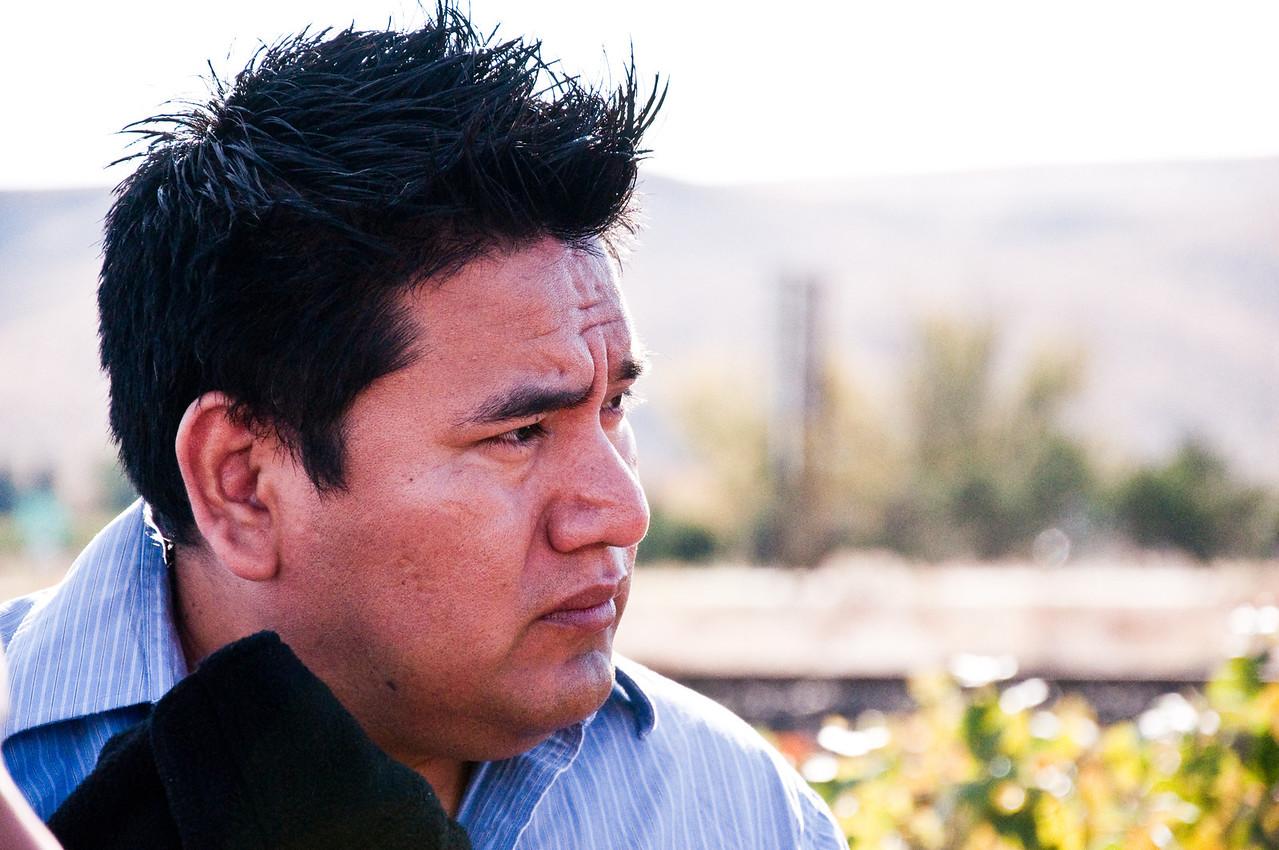 2012.10 - Chad's birthday: wine tasting in Prosser, WA. Tour at Desert Wind Winery.