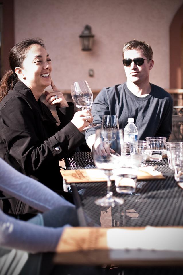 2012.10 - Chad's birthday: wine tasting in Prosser, WA. Milbrandt Vineyards.