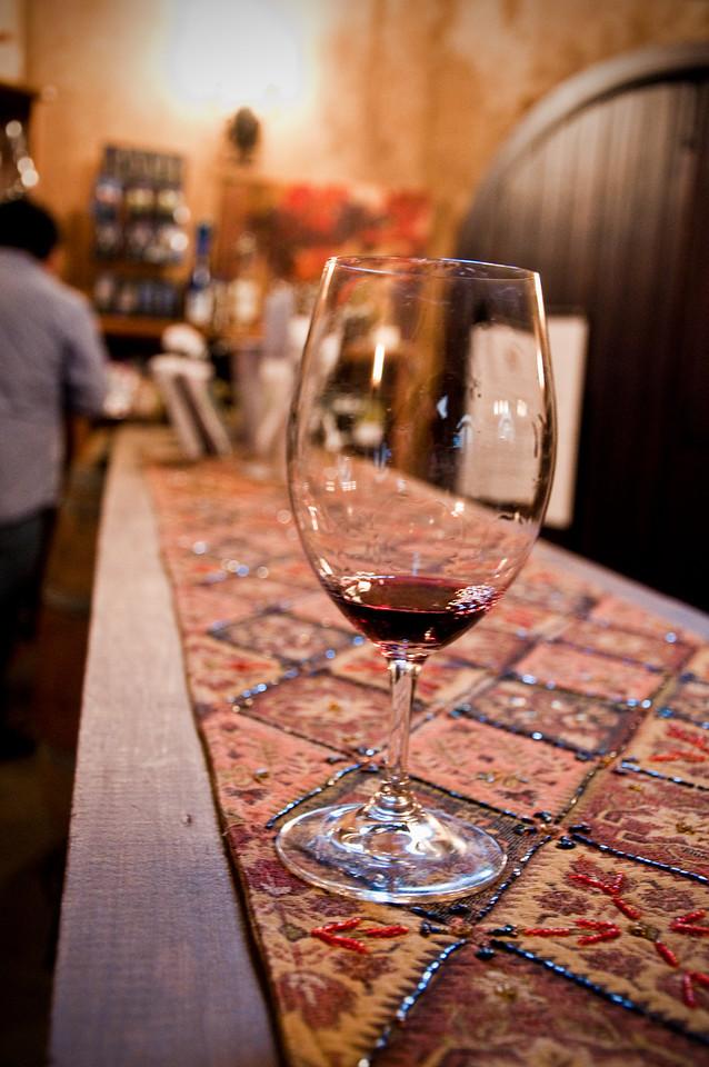 2012.10 - Chad's birthday: wine tasting in Prosser, WA. Apex Winery.
