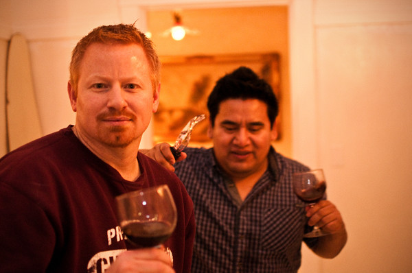 2012.10 - Chad's birthday: wine tasting in Prosser, WA. Dinner and wine at 7 Gables Pensione B&B
