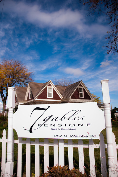 2012.10 - Chad's birthday: wine tasting in Prosser, WA. 7 Gables Pensione B&B.