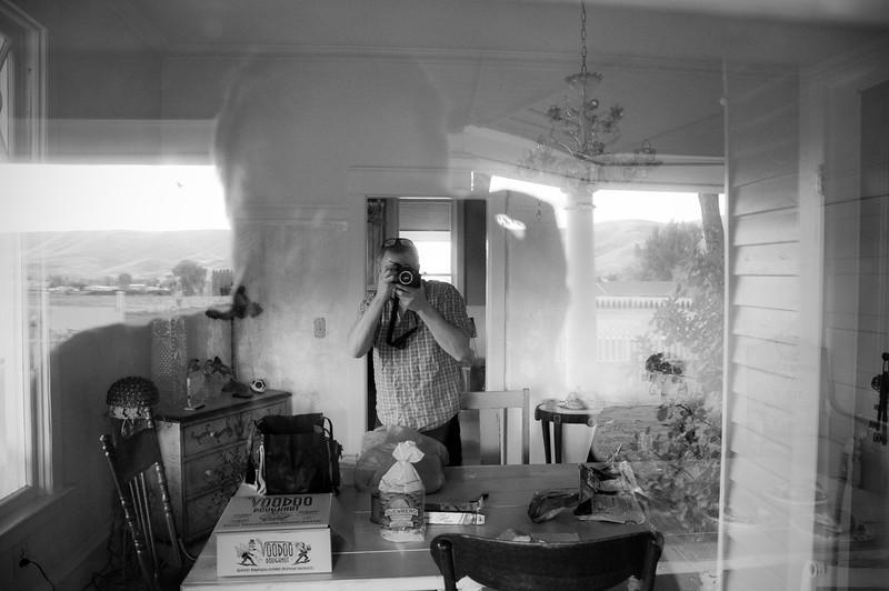 2012.10 - Chad's birthday: wine tasting in Prosser, WA. Self po reflection.