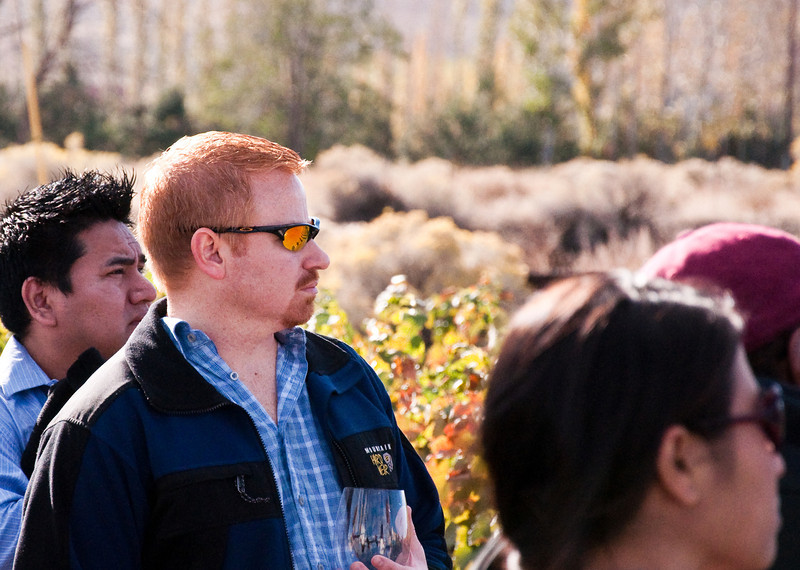 2012.10 - Chad's birthday: wine tasting in Prosser, WA. Tour at Desert Wind Winery.