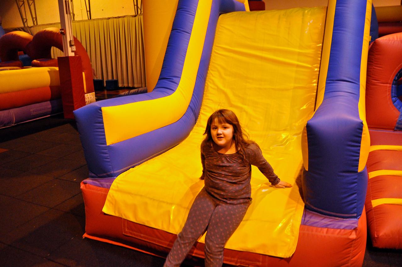 2012.01 - Kimber's 8th Birthday - Jump Planet