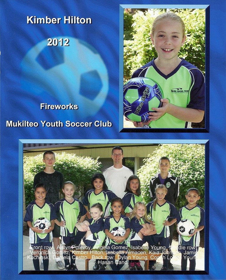 Fall 2012 - Soccer team pictures