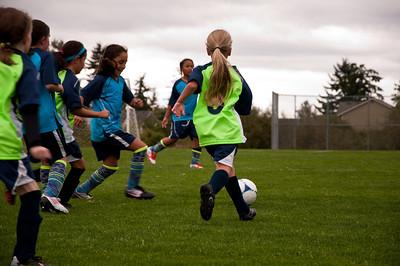 2012.09 - Soccer match vs. TB Stewart Blue Lightning