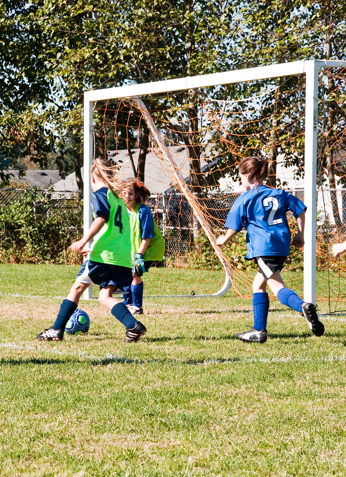 2012.10.07 - Soccer match vs. SL Fledderman