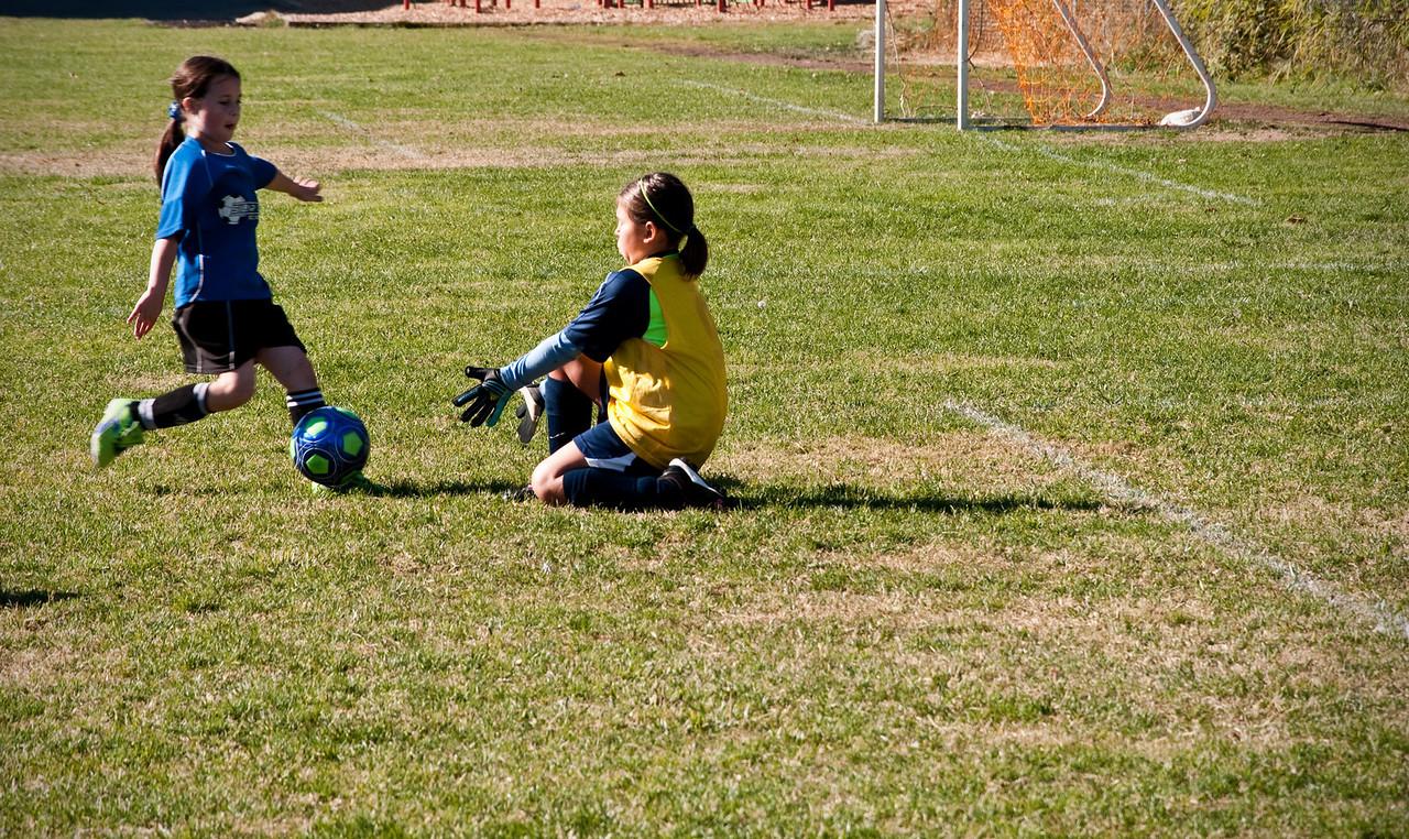 2012.10.07 - Soccer match vs. SL Fledderman