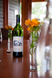 2012.06 - Ivory's birthday: wine tasting in Walla Walla. Lunch at Woodward Canyon winery.