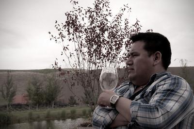 2012.06 - Ivory's birthday: wine tasting in Walla Walla. Waterbrook winery.