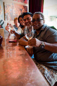 2012.06 - Ivory's birthday: wine tasting in Walla Walla. Back to Sapolil Cellars the next day for another round.