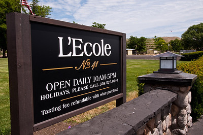 2012.06 - Ivory's birthday: wine tasting in Walla Walla. L'Ecole No. 41.