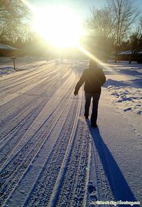 Great walk on a beautiful, brisk morn.