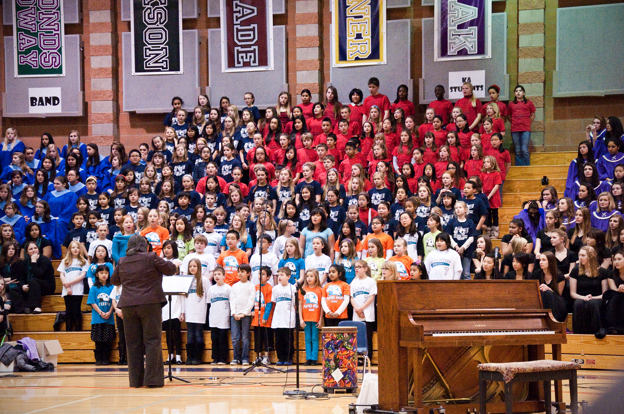 2013.02.21 - Choir concert at Kamiak High School