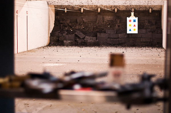 2013.01.03 - Shooting range with Mike Anderson