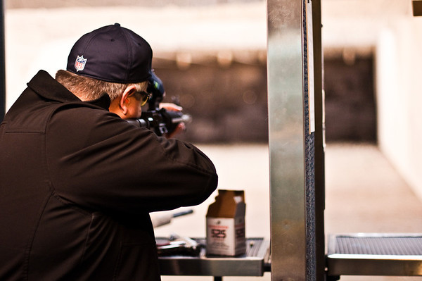 2013.01.03 - Shooting range with Mike Anderson. .22 AR
