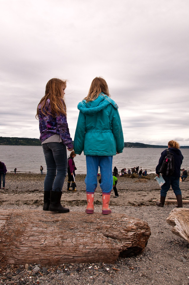 2013.05.28 - 3rd Grade field trip to Mukilteo Beach