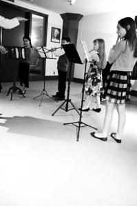2013.05.18 - flute ensemble. Mikayla, Taimen, Kimber and Xerna.