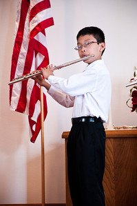 2013.06.09 - flute recital at First Congregational Church of Maltby