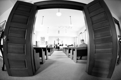 2013.06.09 - flute recital at First Congregational Church of Maltby (fisheye lens)