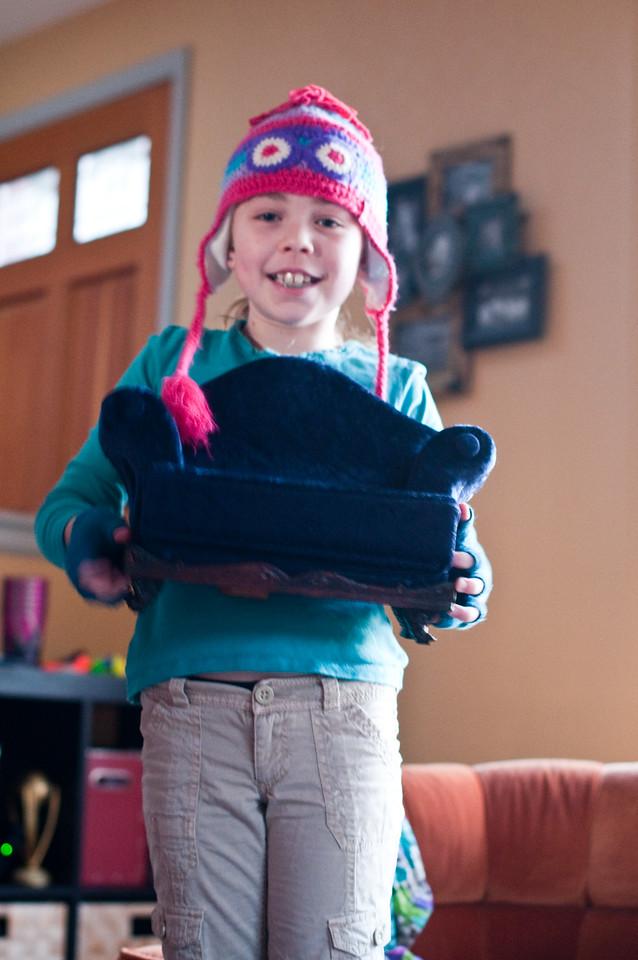 2013.01 - Kimber's Birthday - Gifts from Grandma Carol and Papa Ben