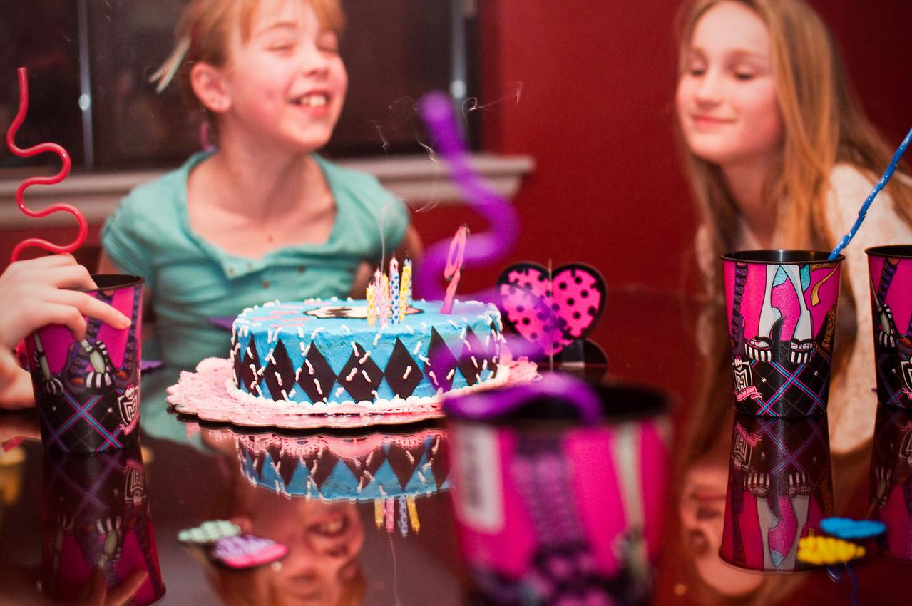 2013.01 - Kimber's Birthday - Slumber party