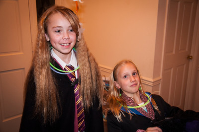 Halloween '13 - Hermione and Luna