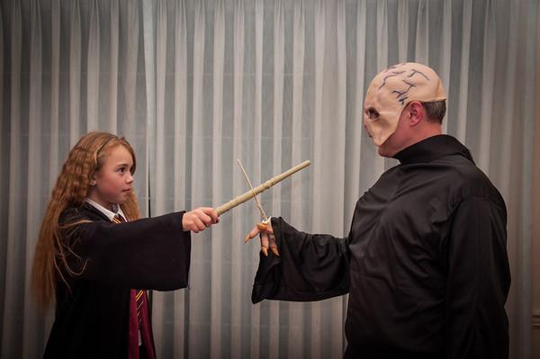 Halloween '13 - Hermione vs. Voldemort