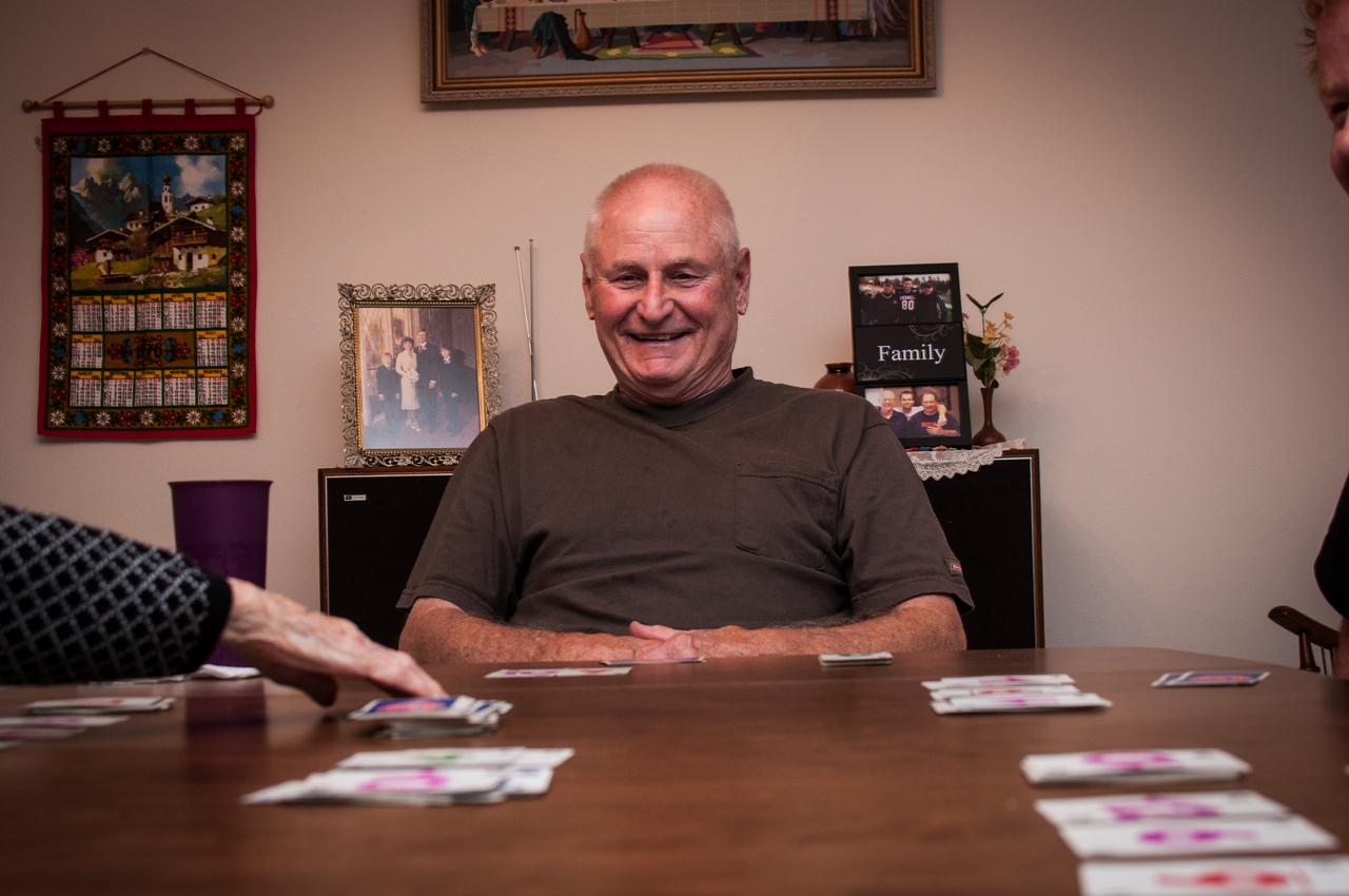 2013.09.27 - Illinois trip to see Grandma. Cards.