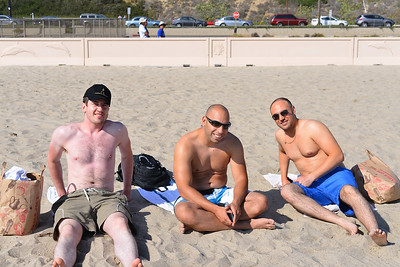 3 of us in Malibu Beach