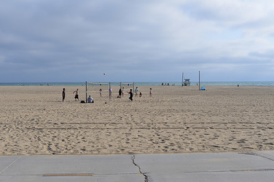 Volleyball by the beach