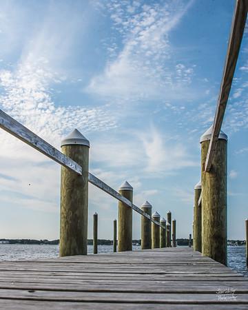 Dock lines...