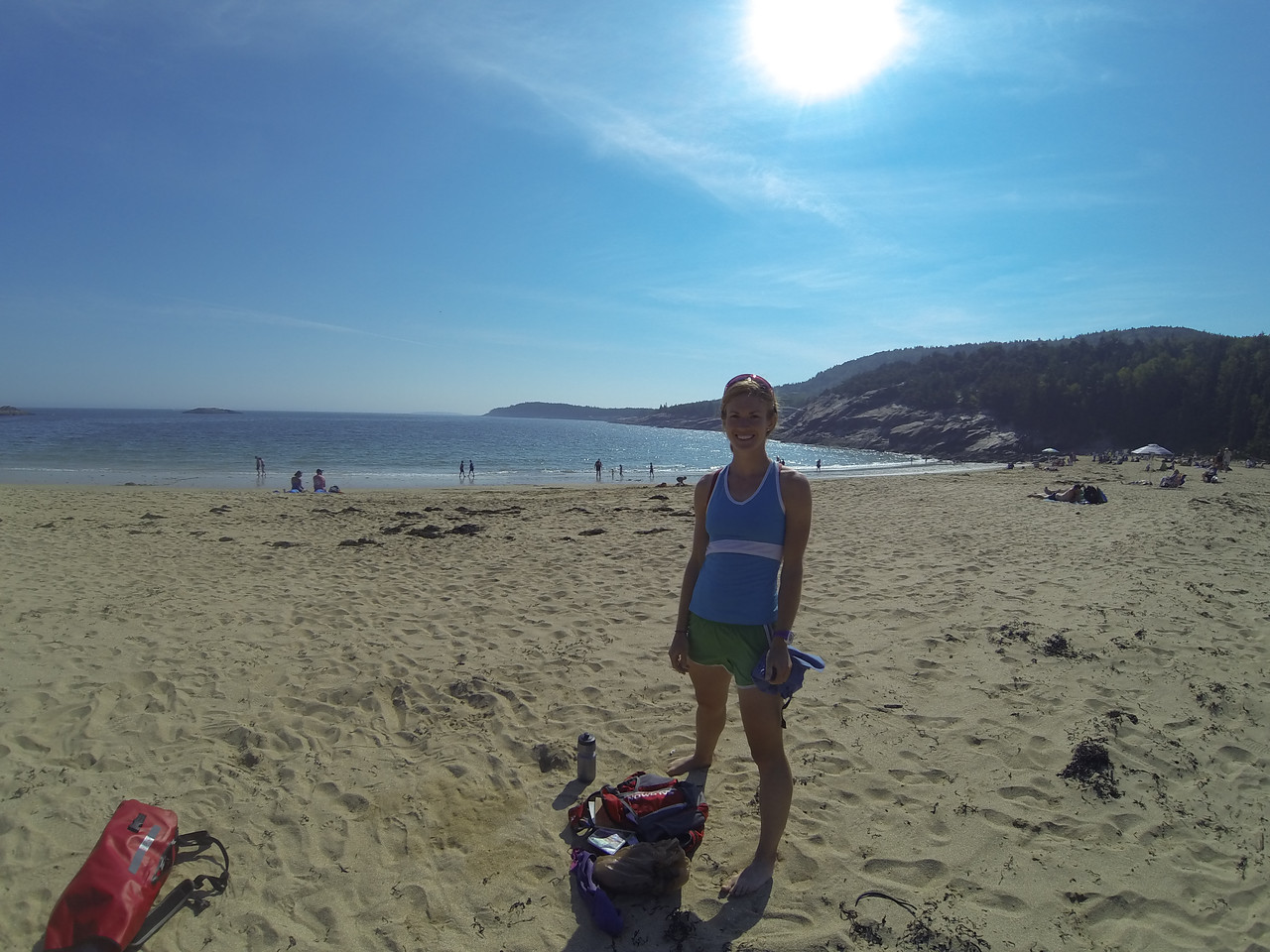 Sand Beach: We decided we need to do at least a few hours of nothing before leaving!