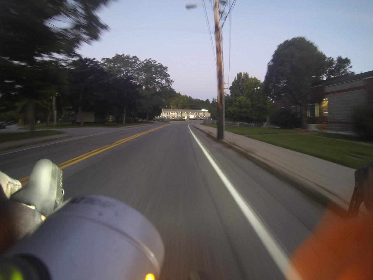 Dawn ride up Cadillac