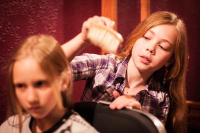2014.05.10 - Children's Museum - barber chair
