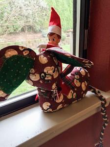 2014.12.06 - Ellken, the elf on a shelf